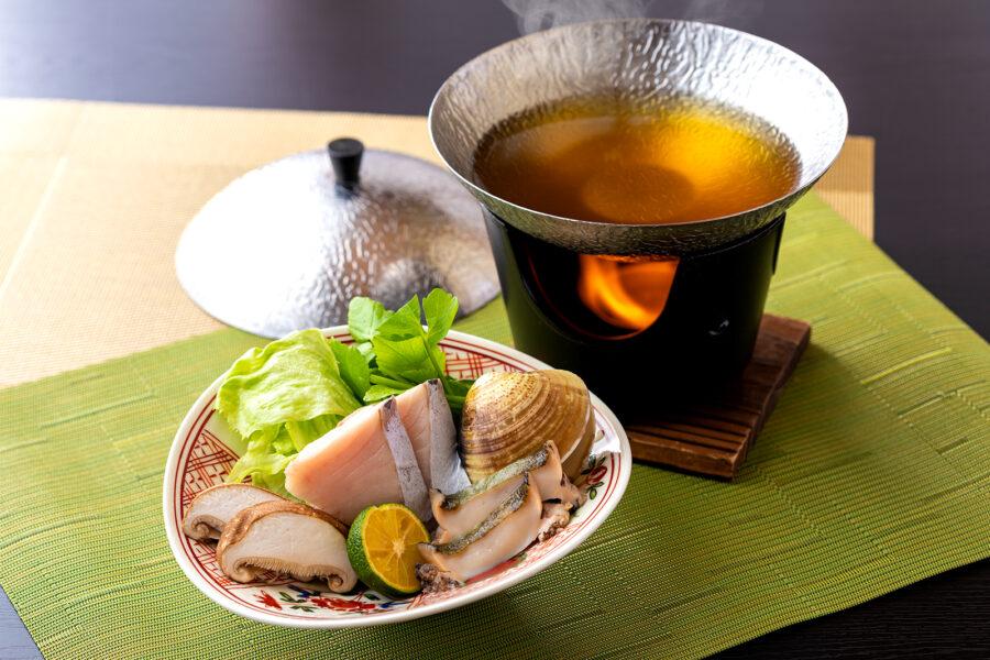 【春の特選懐石】春の鍋仕立て