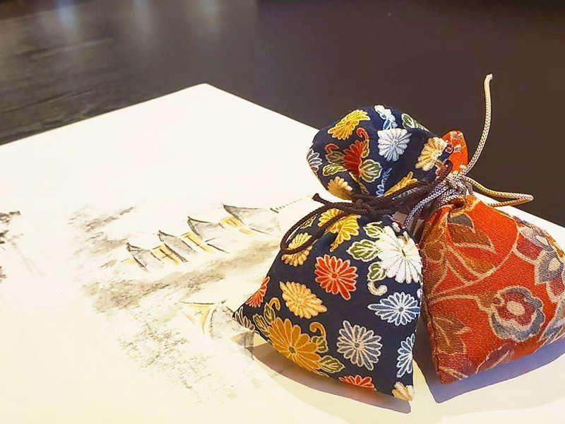日本古来1300年の歴史 大和にほひ袋と文香(ふみこう)作り体