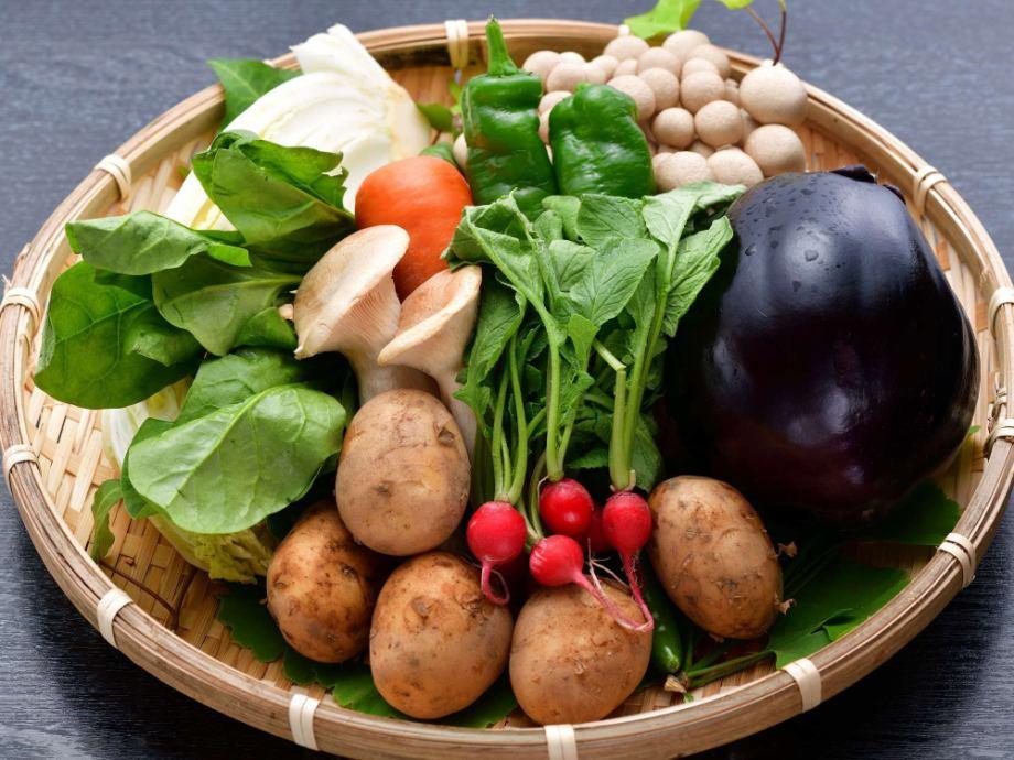 """奈良のブランド野菜""""大和野菜""""<br /> 他の野菜にはない大和野菜独特の「形、味、香り」をお楽しみください。"""