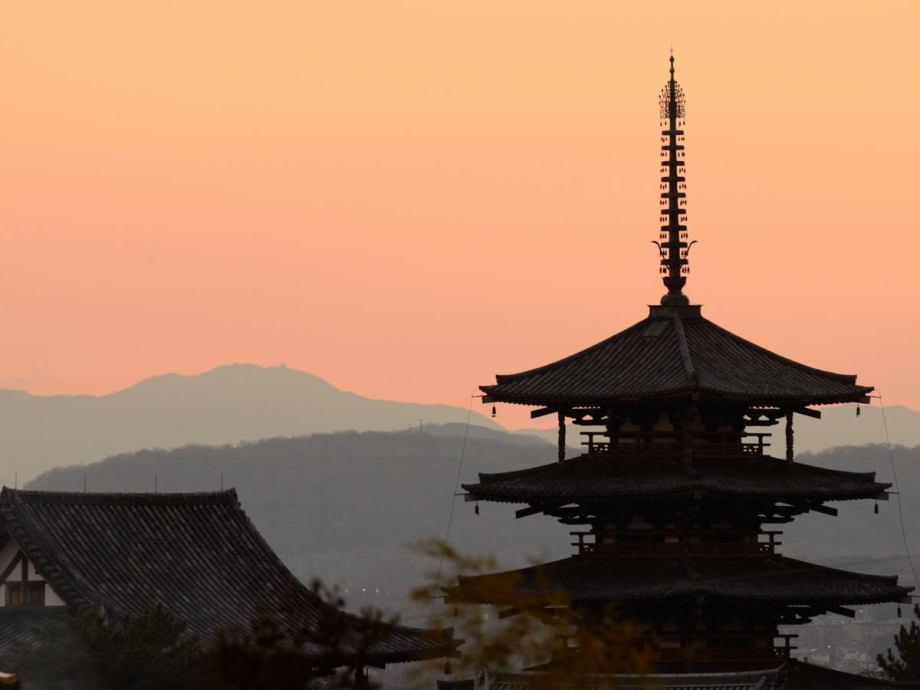 世界遺産法隆寺