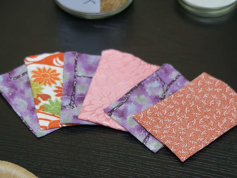 大和にほひ袋作り体験