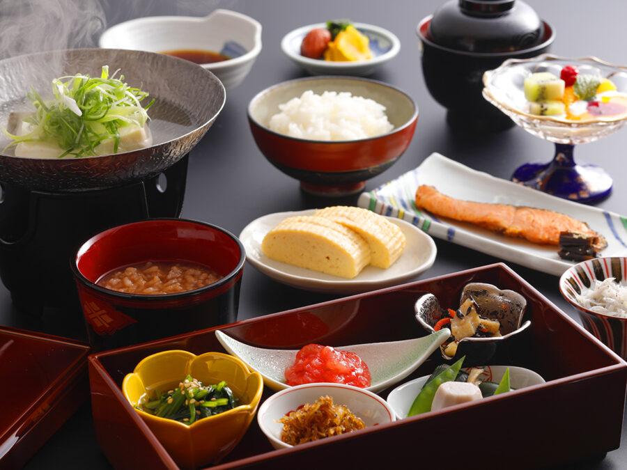 【料理長拘り和朝食 一例】