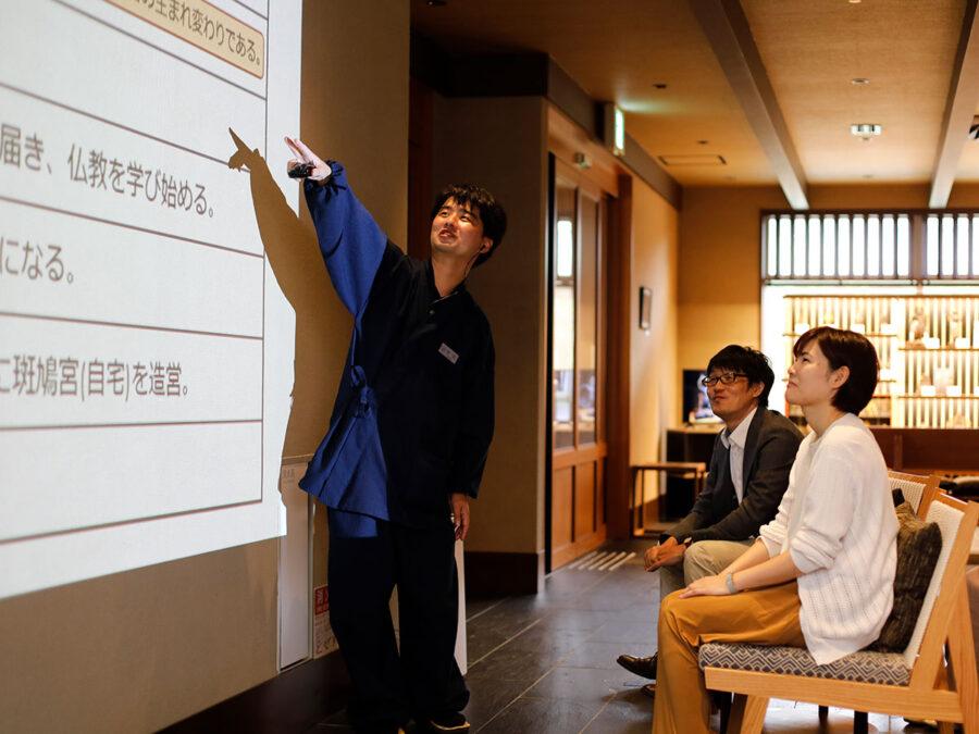 【和空法隆寺オリジナルトークショー】奈良の歴史や文化を学べるトークショーを開催。